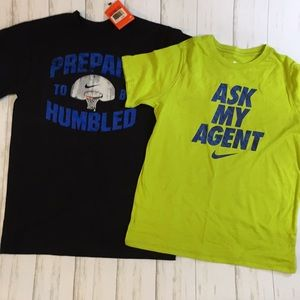 NWT 2 pc Set Nike Boys T-shirts